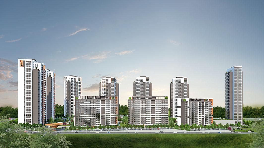 4+1 Apartment with Garden in Bahcesehir