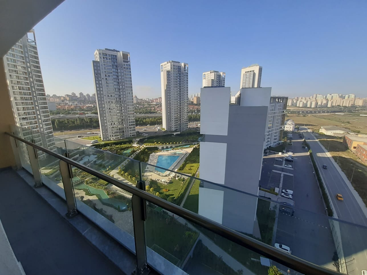 2+1 Apartment in Bahcesehir with Landscape View
